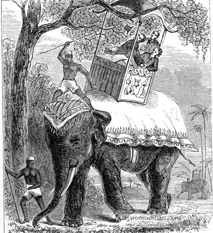 an-elephant-ride-with-mahout-and-howdah-historical-illustration.jpg
