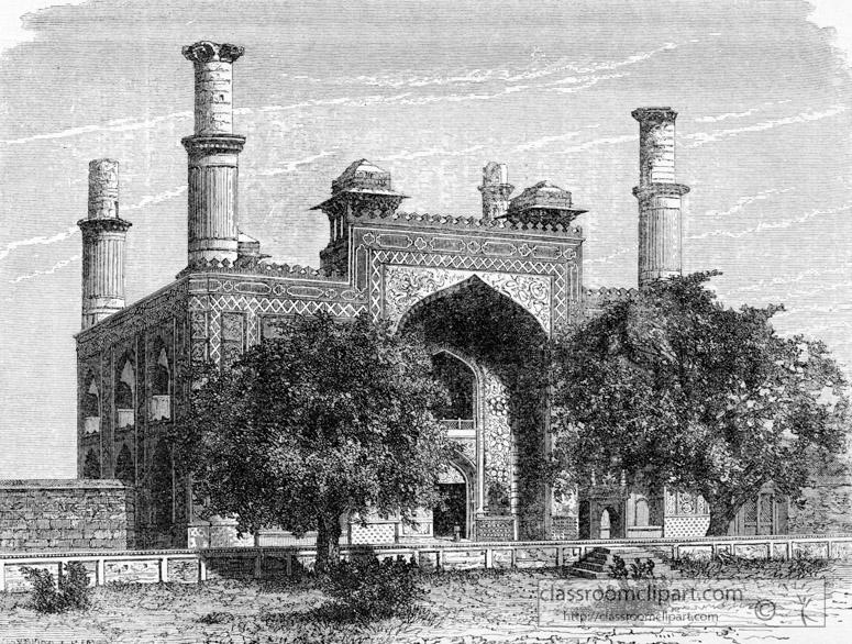 gate-way-of-secundrgarden-india-historical-illustration.jpg