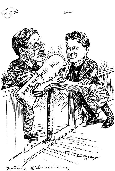 A history of political debates in the united states