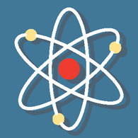 Science Icon Atomic Structure Size 45 Kb From