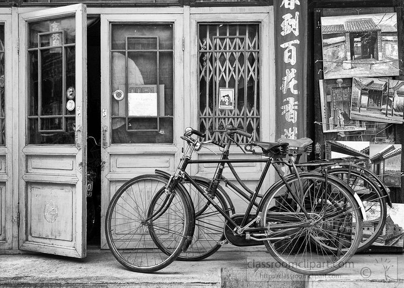 black-and-white-photograph-of-old-bicycle-in-hutongs-china.jpg