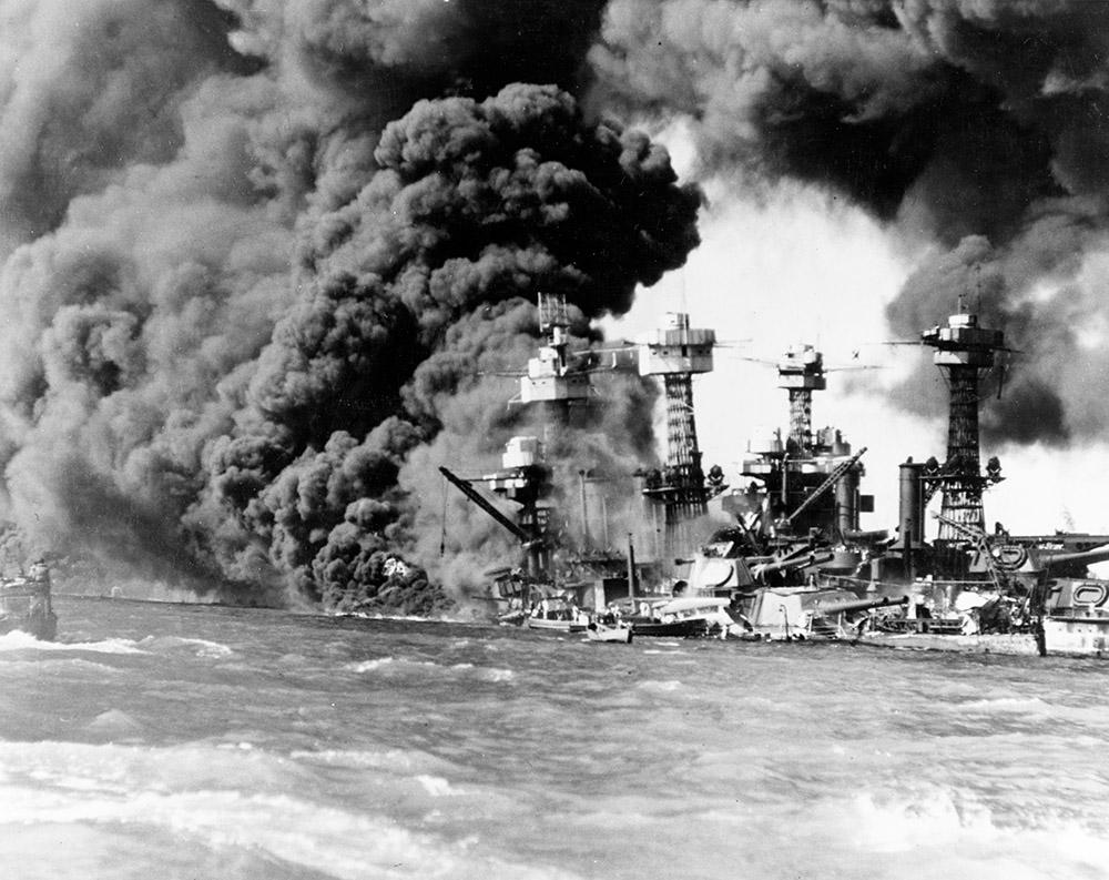 photo taken dec. 7 1941 the battleship uss west virginia pearl harbor.jpg