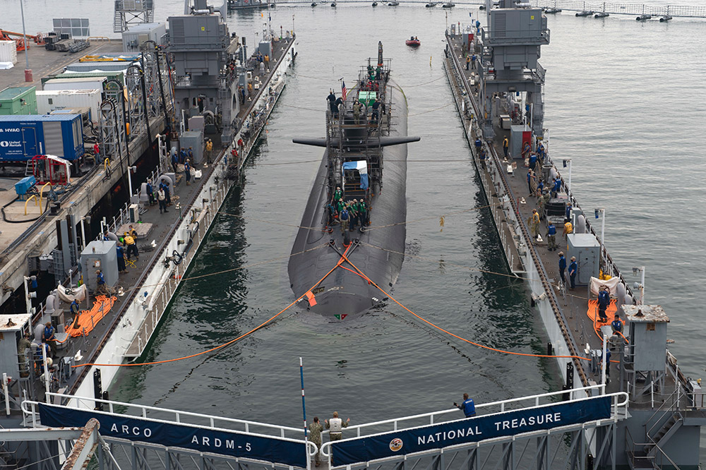 pulls into the floating dry dock at naval base point loma.jpg