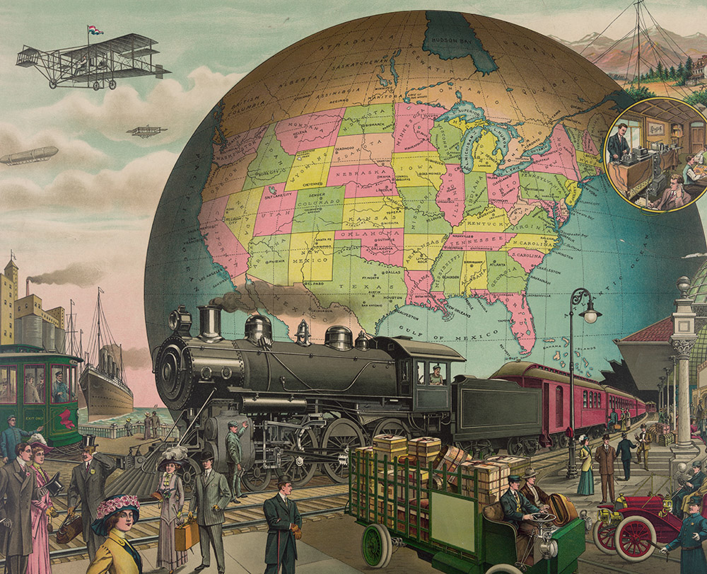 people-train-automobile-trolley-and-truck-at-railroad-station-with-airplanes-and-ship-2.jpg